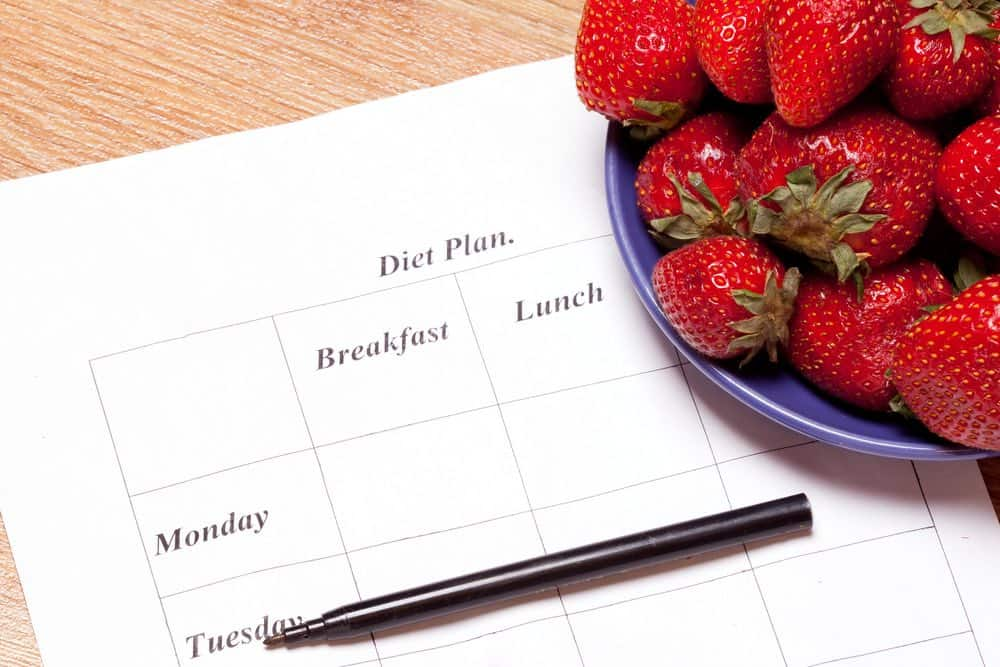 meal plan for losing weight