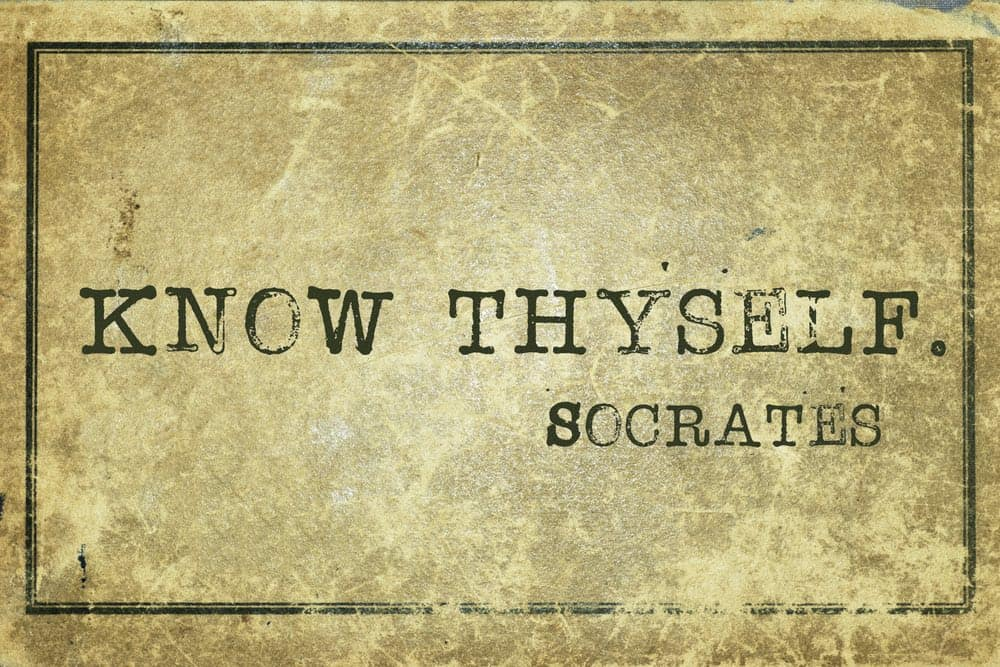 socrates know thyself quote