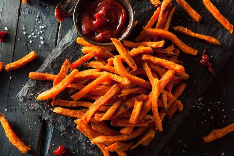 sweet potatoes vegan not expensive