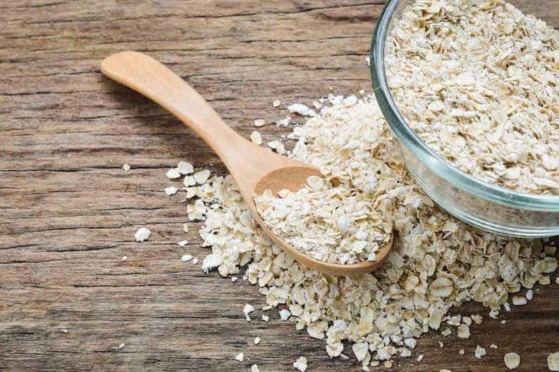 rolled oats vegan staple