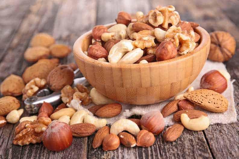 nuts affordable vegan snack