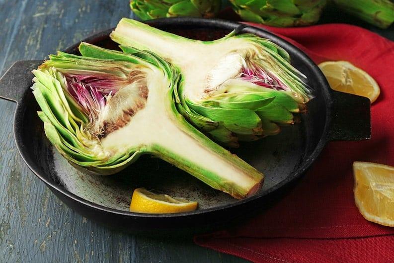 split artichoke