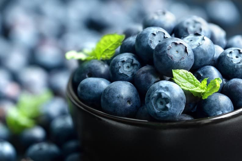 blueberries mood superfood stress