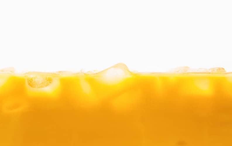calcium fortified orange juice