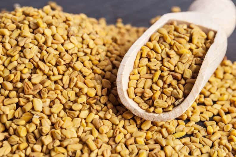 fenugreek water natural constipation reliever