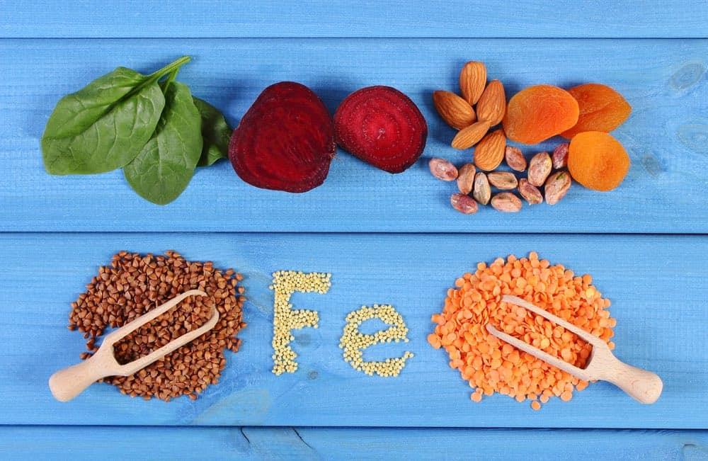 iron rich vegan foods