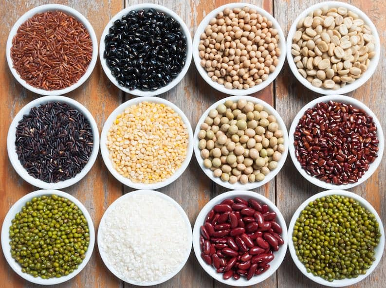 legumes and rice combined protein myth
