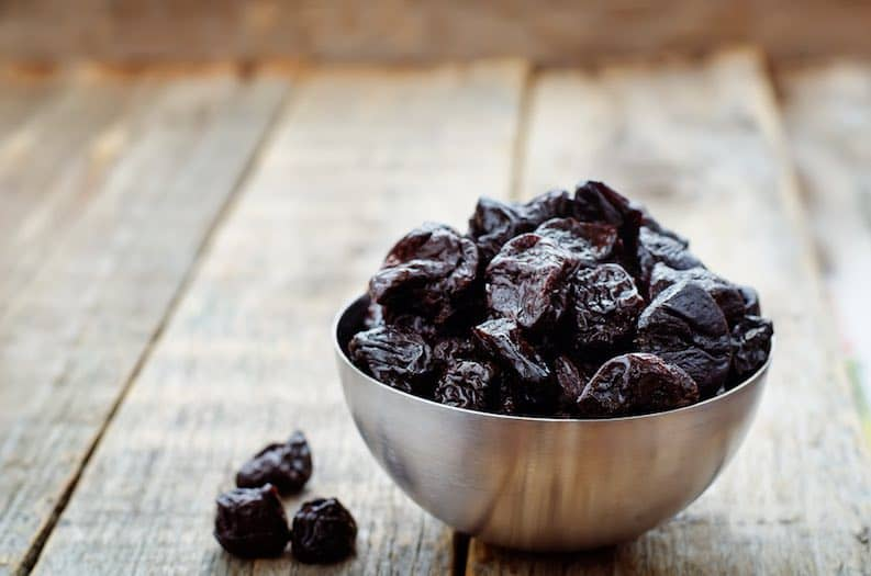 prunes natural constipation remedy