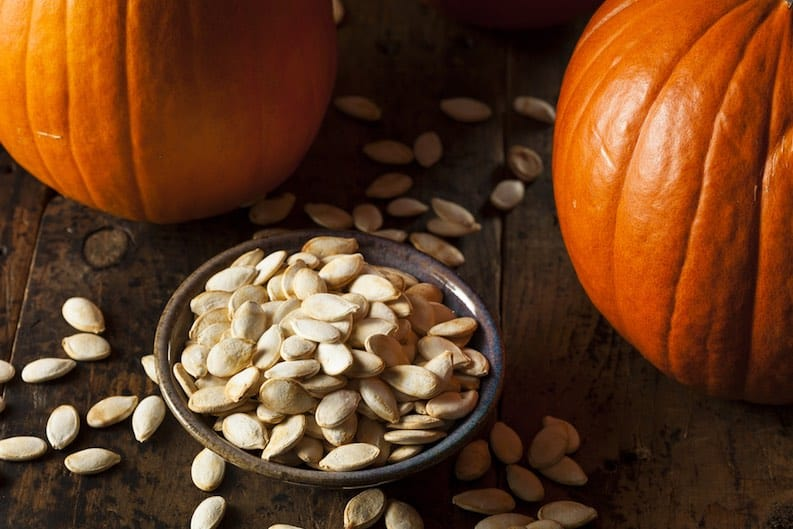 pumpkin seeds vegan teen zinc