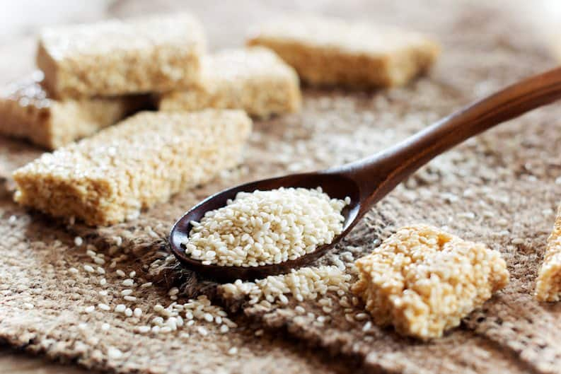 sesame seeds can help relieve constipation