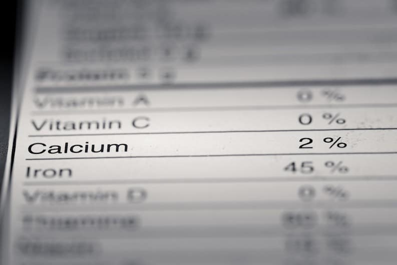nutritonal information truth about calcium