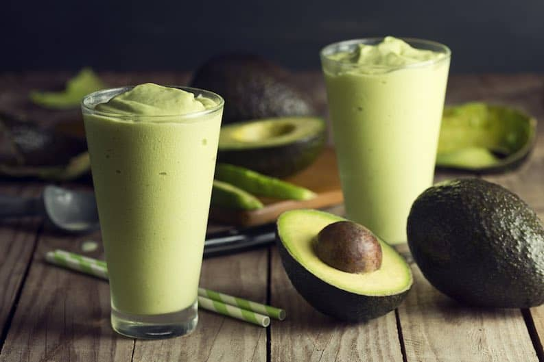 avocado vegan healthy fat