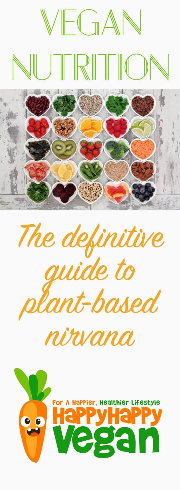 Vegan nutrition guide: The only post you need to find plant-based nirvana.
