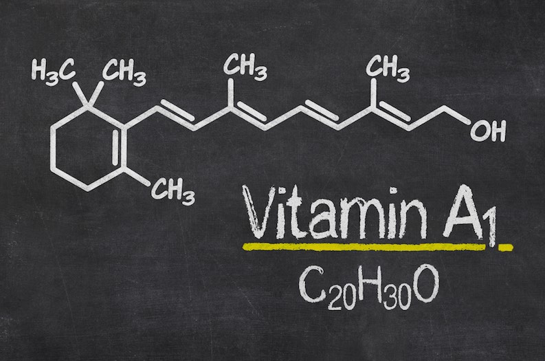 vitamin a diagram