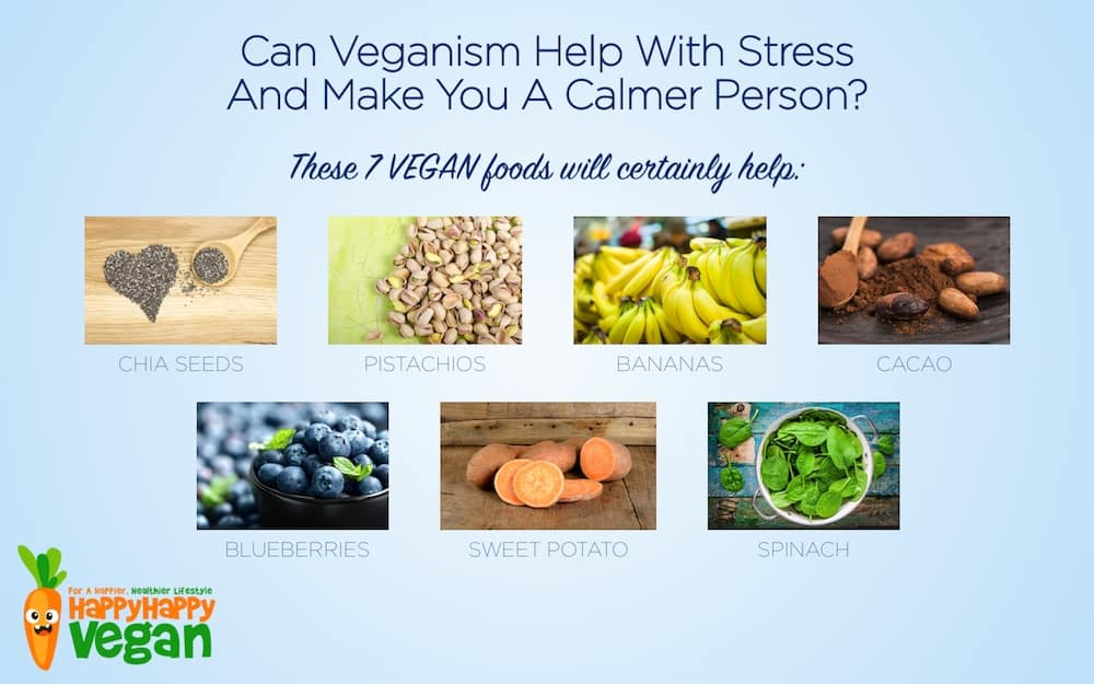 VEGAN STRESS RELIEVING FOODS