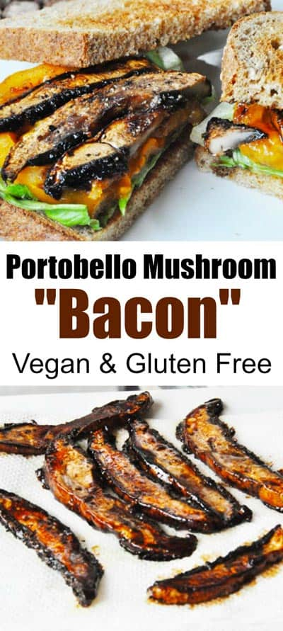 portobello mushroom bacon
