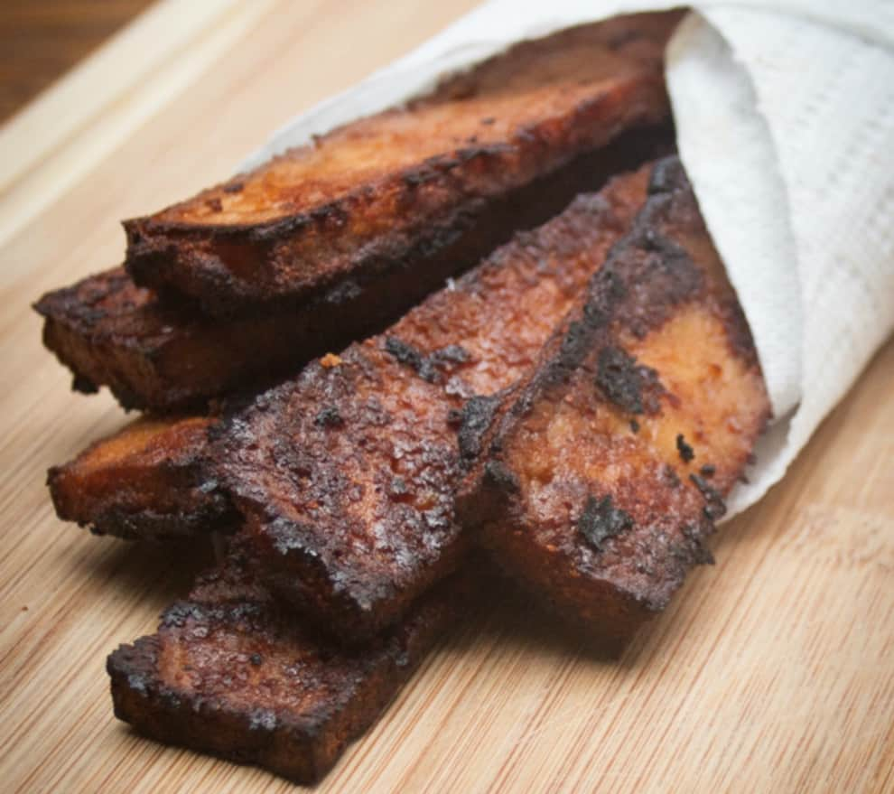 bacon recipe vegan