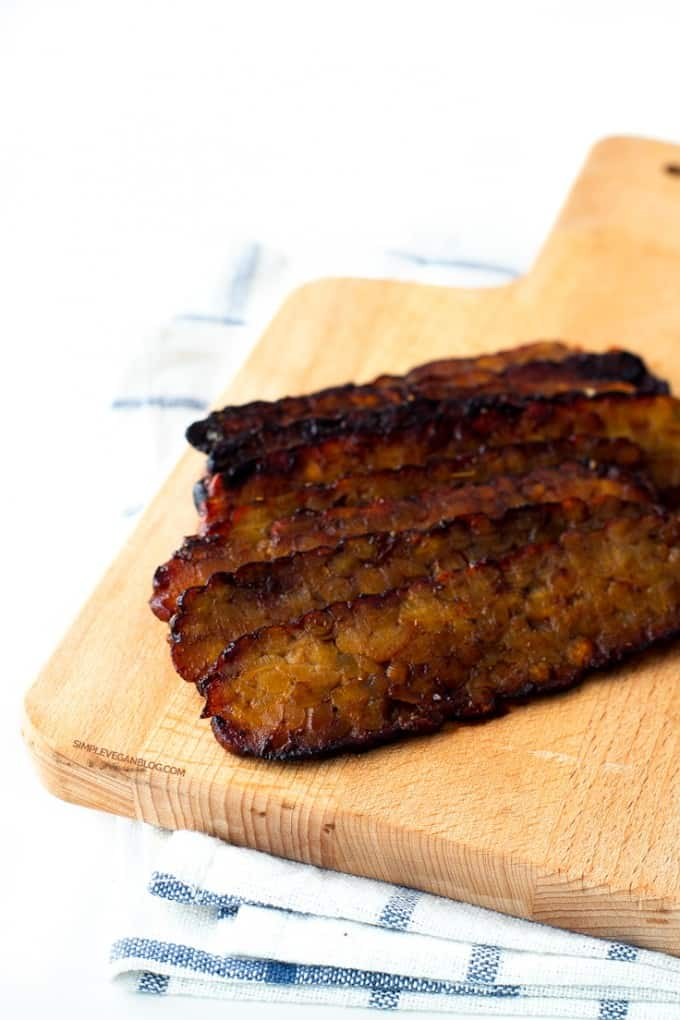 tasty tempeh vegan bacon