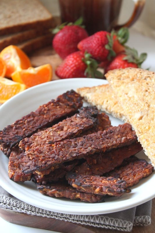 tempeh bacon for vegans