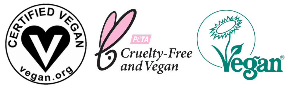 vegan logos for cruelty-free products