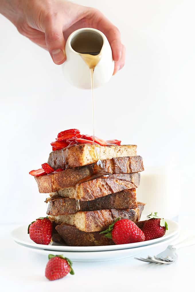 vegan french toast minimalist baker