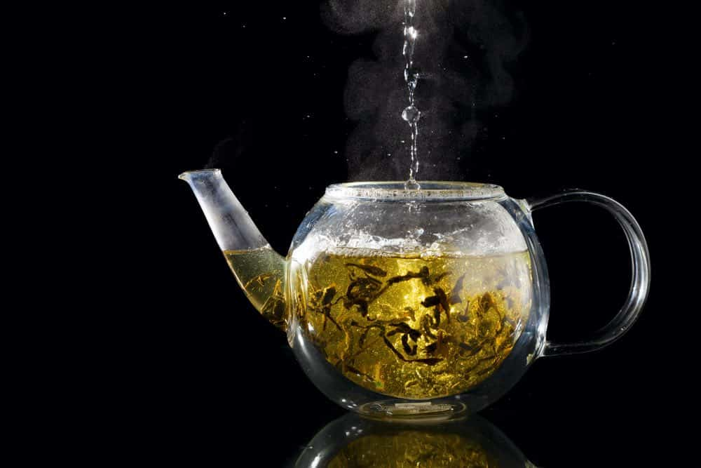 glass teapot for loose leaf tea