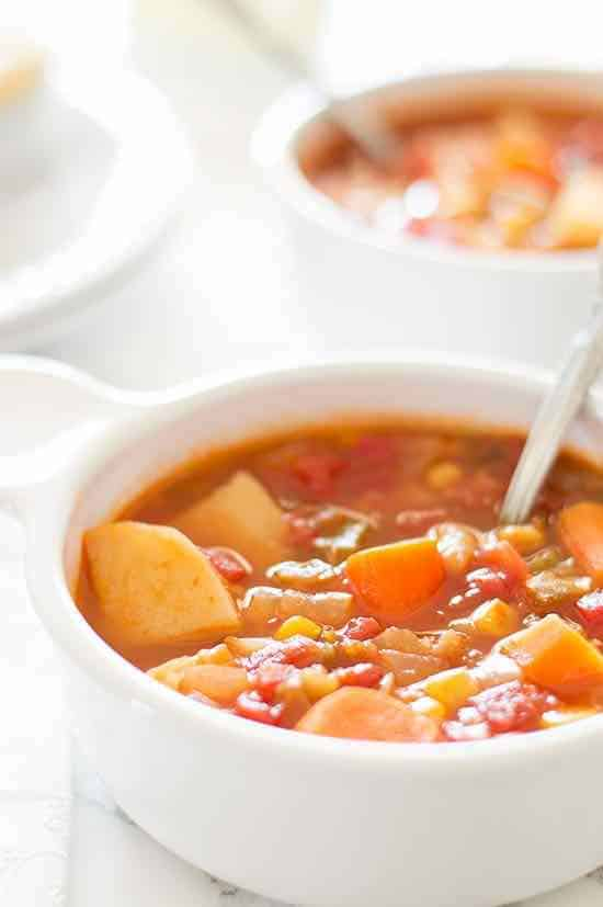 vegan stew with canned corn recipe