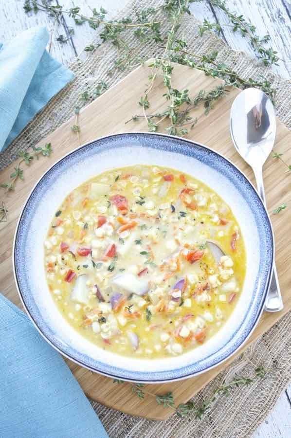 canned corn chowder recipe