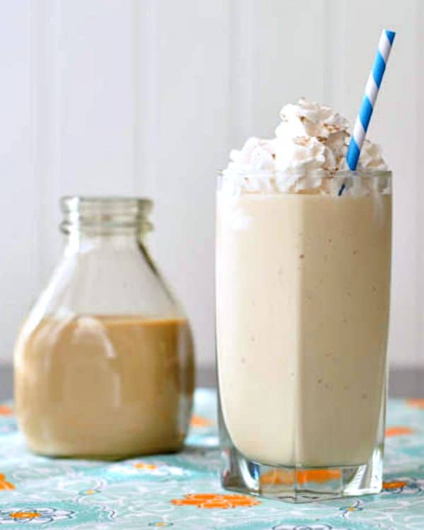 salted caramel alcohol smoothie