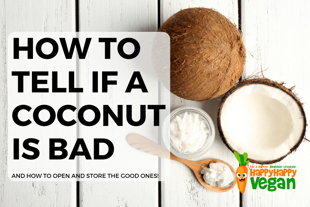 How To Tell If A Coconut Is Bad (And How To Open And Store Good Ones)