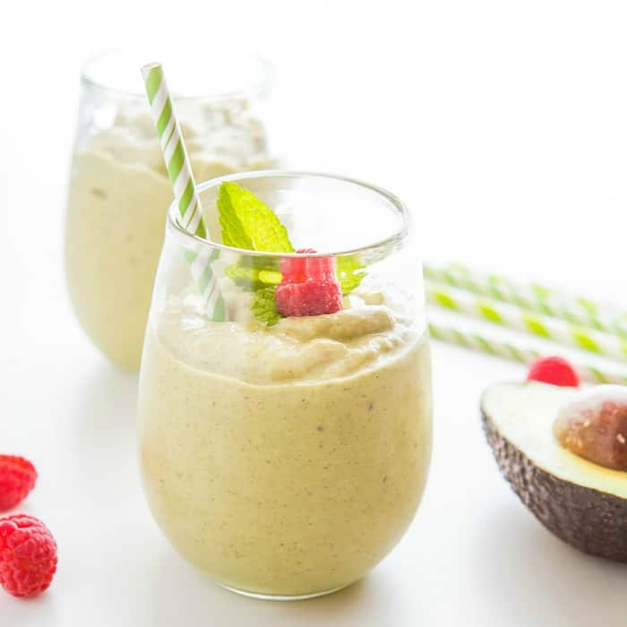 vegan vanilla ketogenic diet smoothie