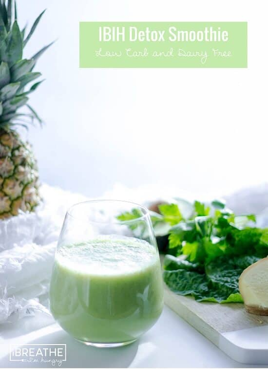 green keto smoothie