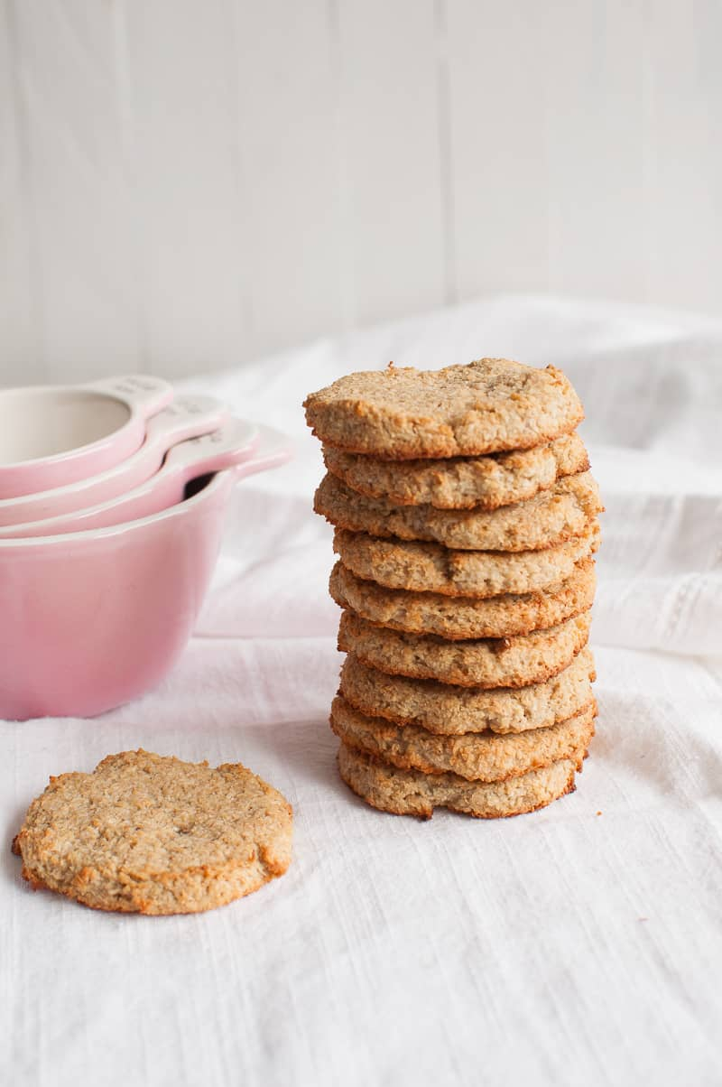 Coconut cookies vegan