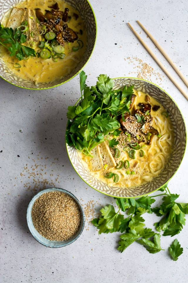 coconut curry ramen