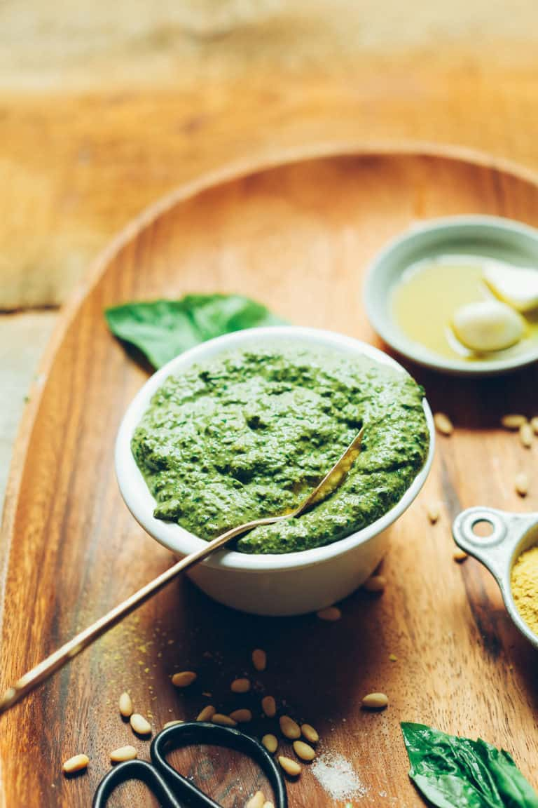plant-based pesto recipe