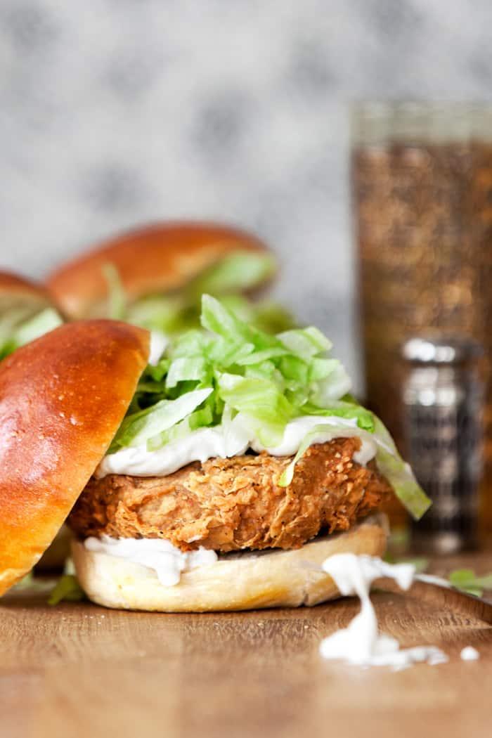 vegan mcchicken sandwich