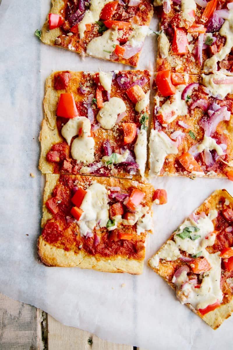 plant-based pizza
