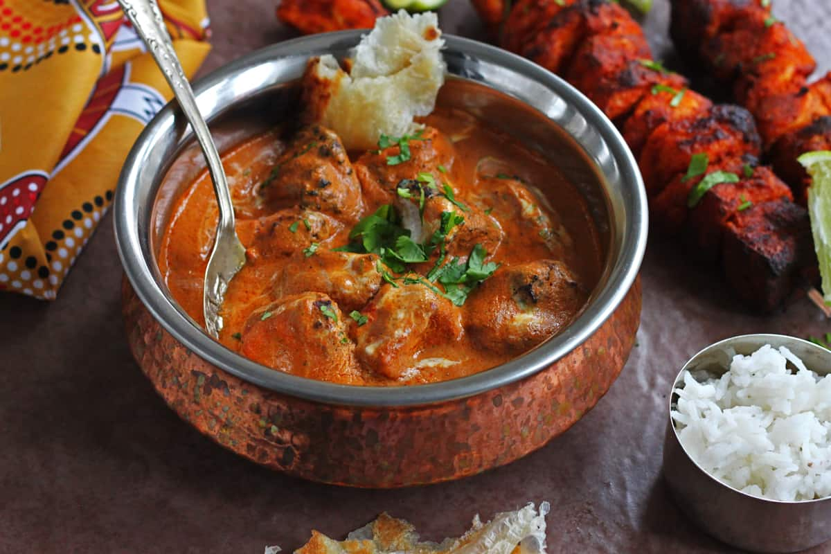 tofu tikka masala curry