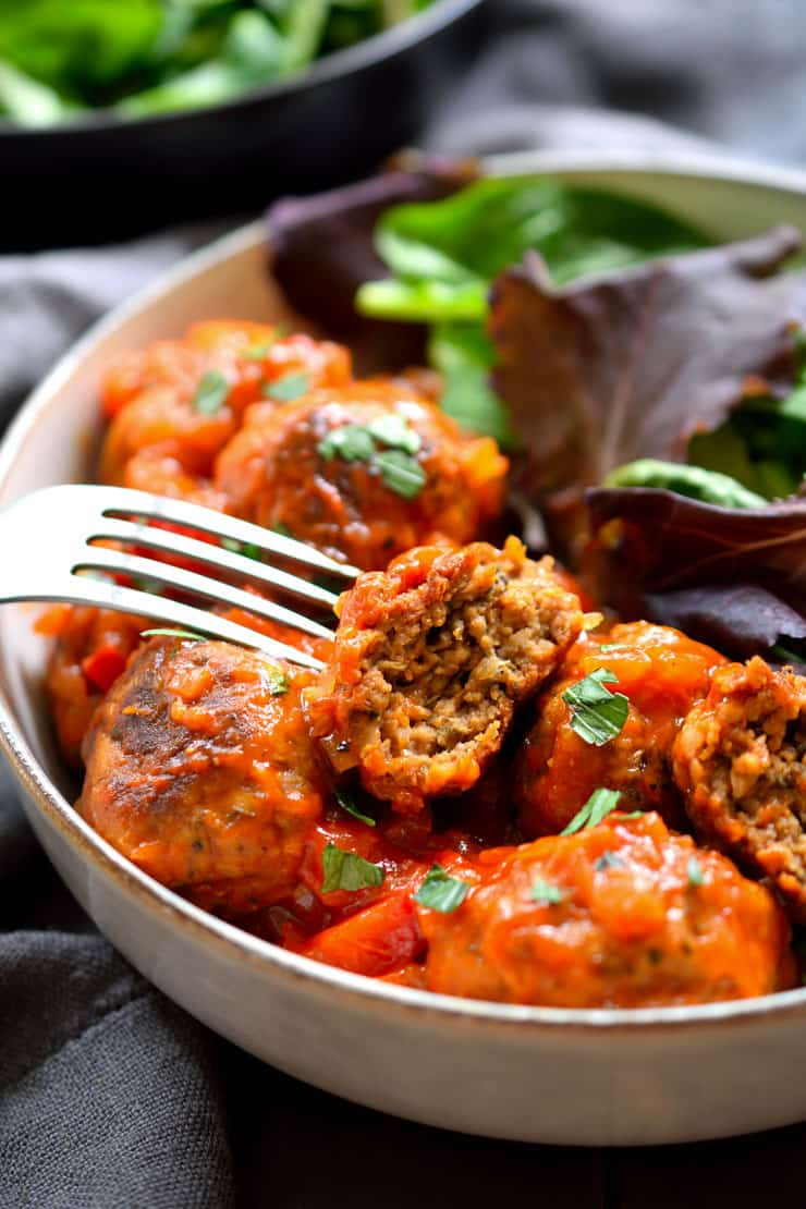 best vegan meatballs