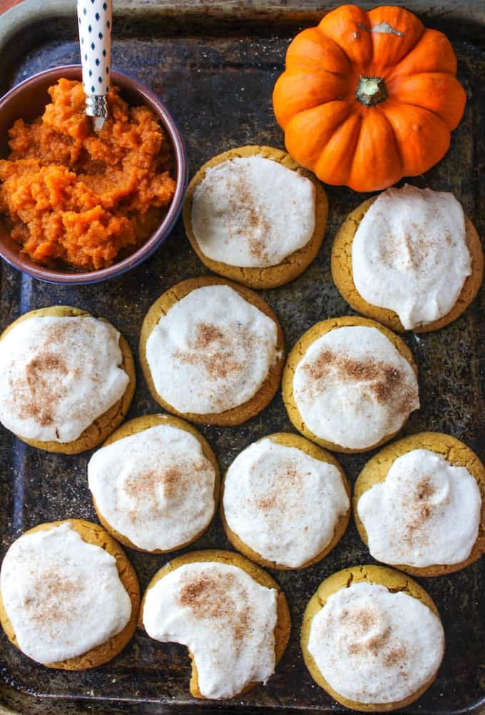 Pumpkin biscuits