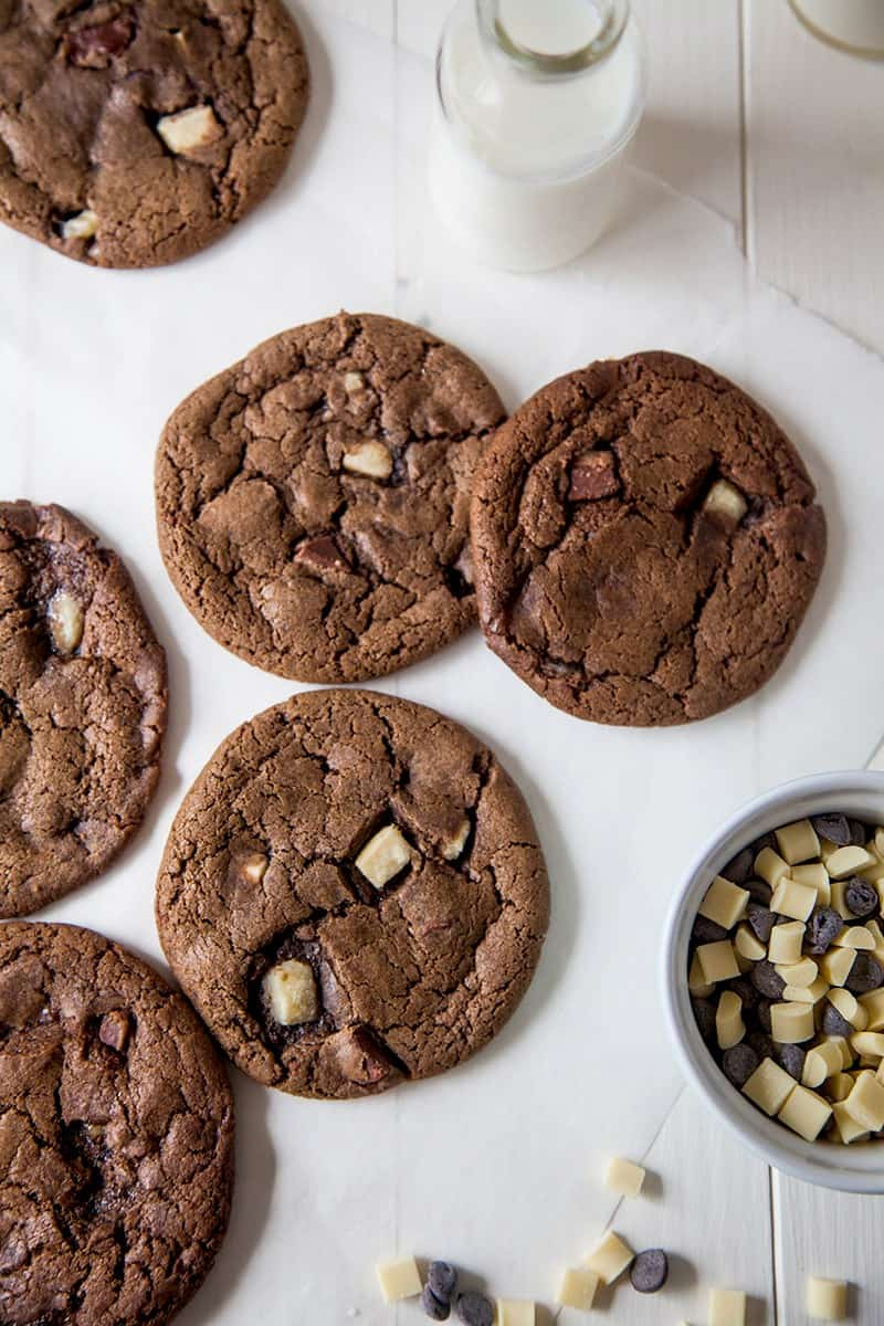 Vegan Triple Chocolate Cookie Recipe
