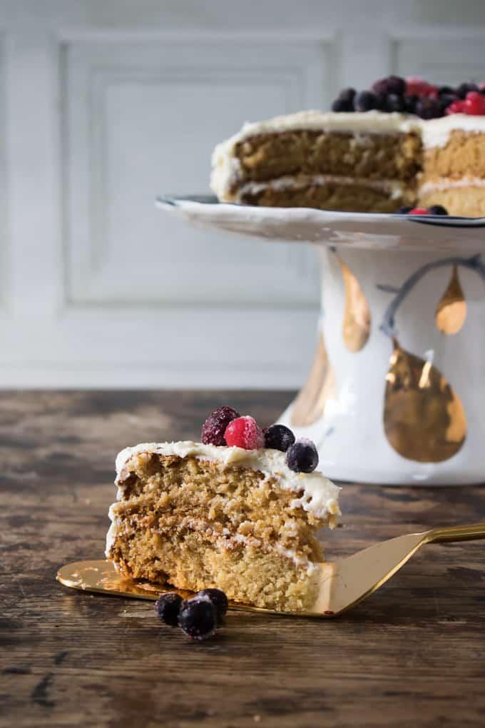 Vanilla cake vegan