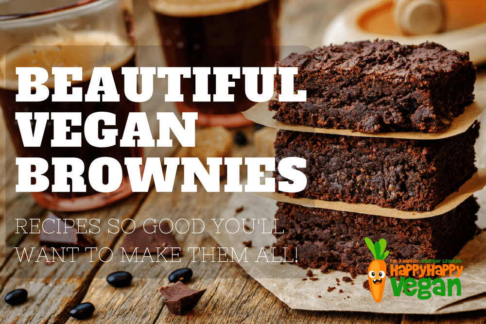 Vegan Brownies: 21 Recipes So Blissful You'll Want To Make Them All
