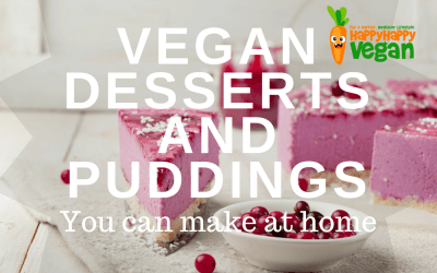 19 Vegan Desserts And Puddings You Can Make At Home