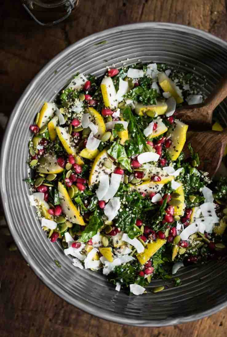 crunchy vegan salad