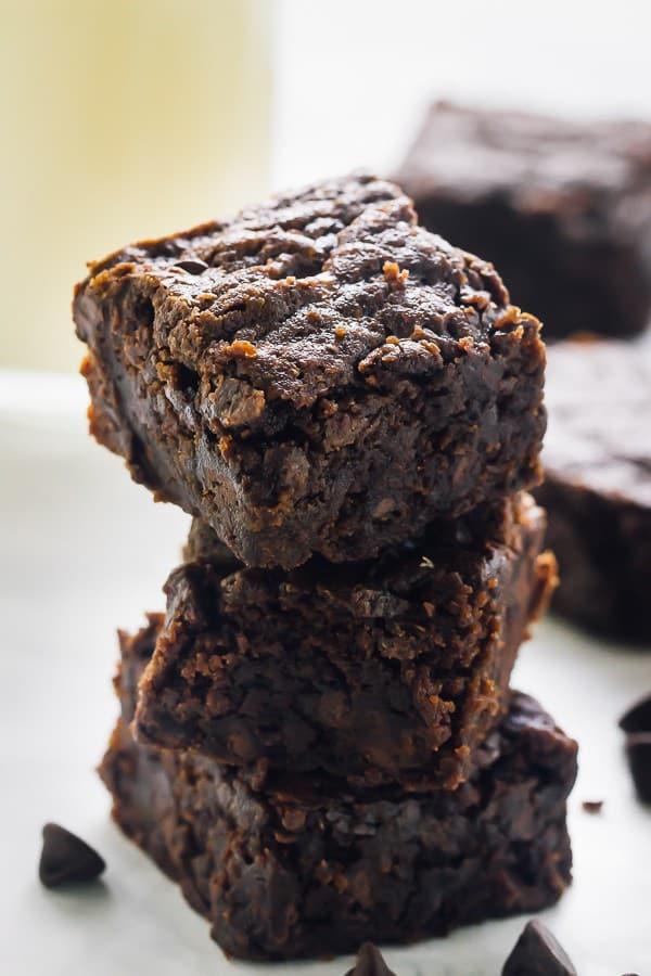 easy vegan brownie mix