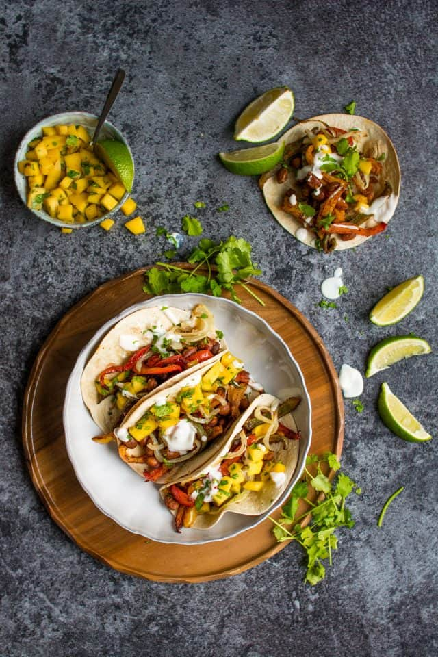 One Tray Tacos #Vegan
