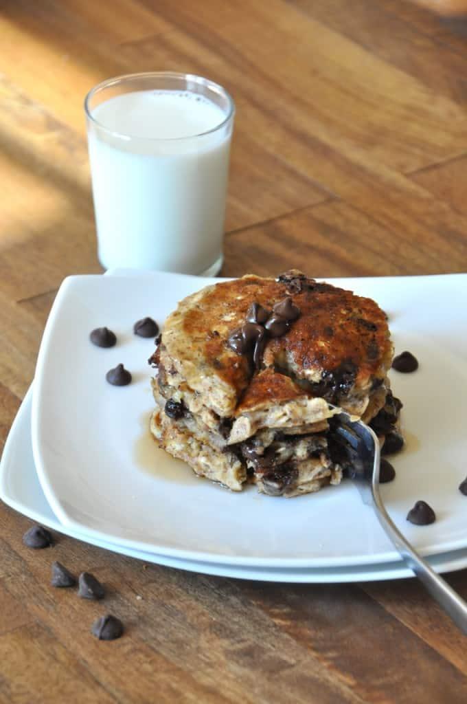 dairy-free pancake recipe minimalist baker