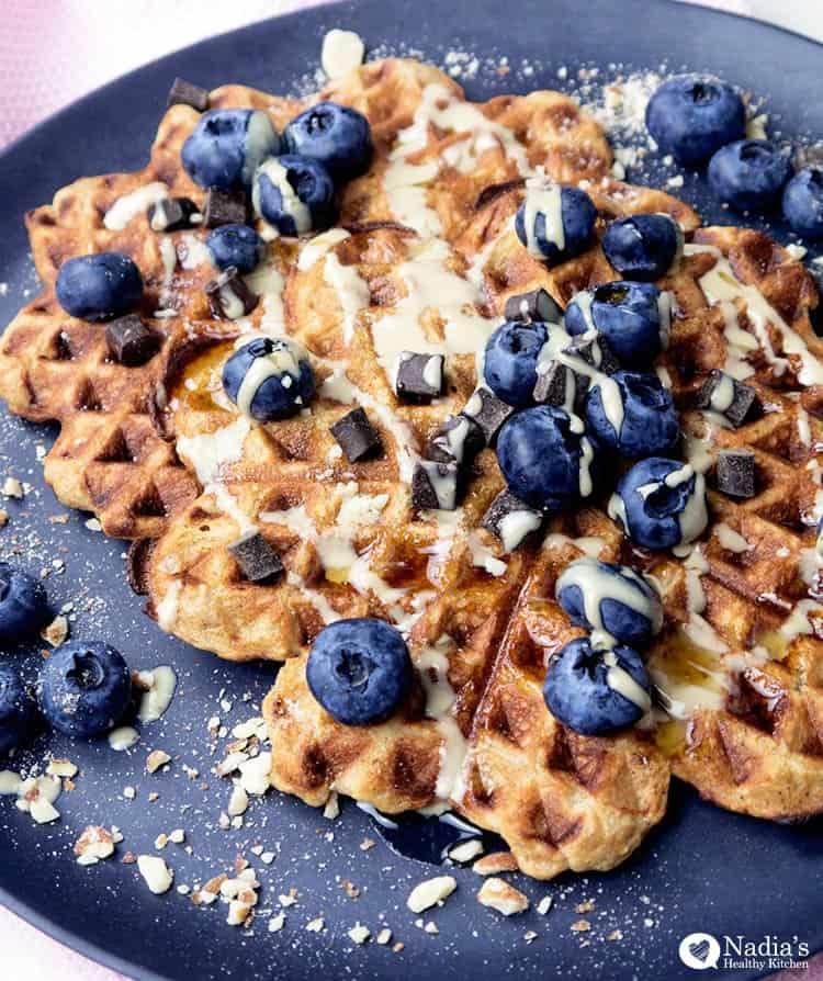 gluten-free vegan waffle mix