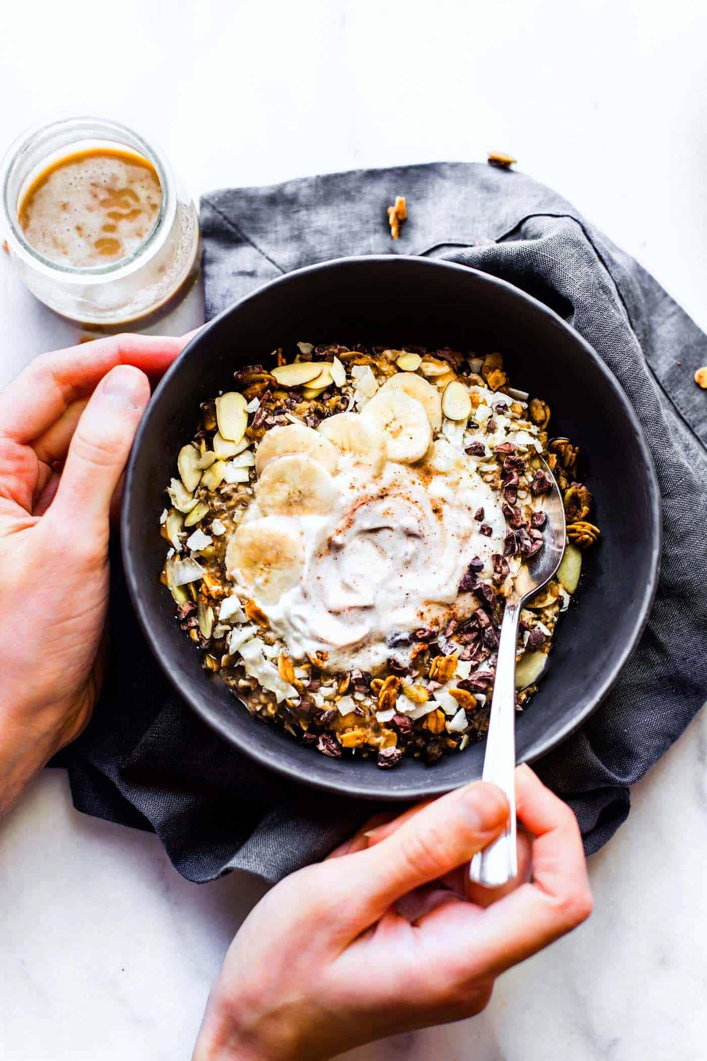 Detox morning bowl